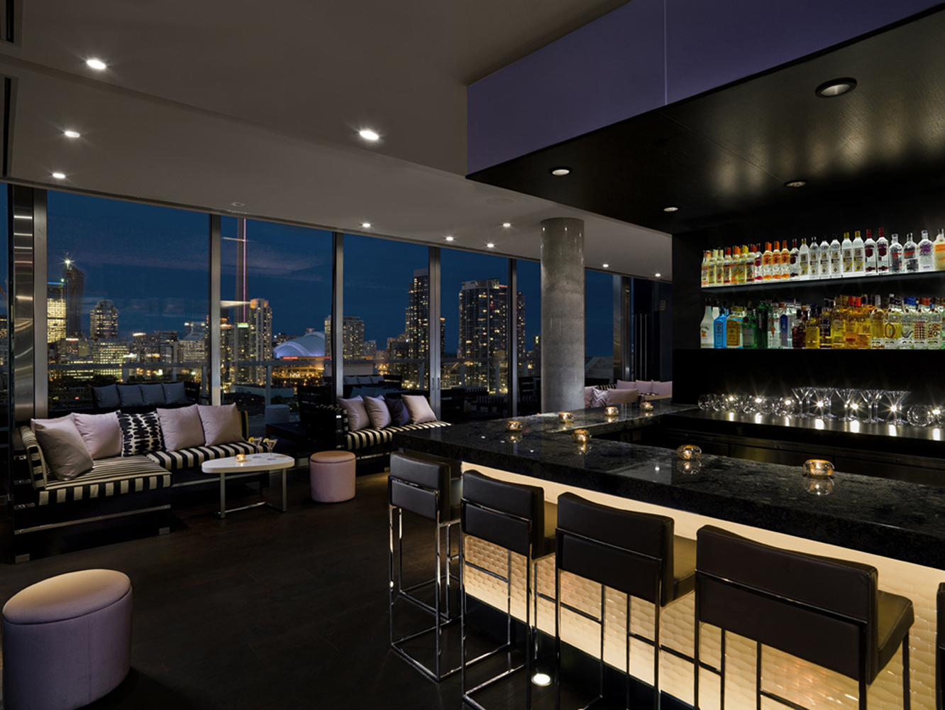 Thompson Hotel Rooftop Ii By Iv Designii By Iv Design